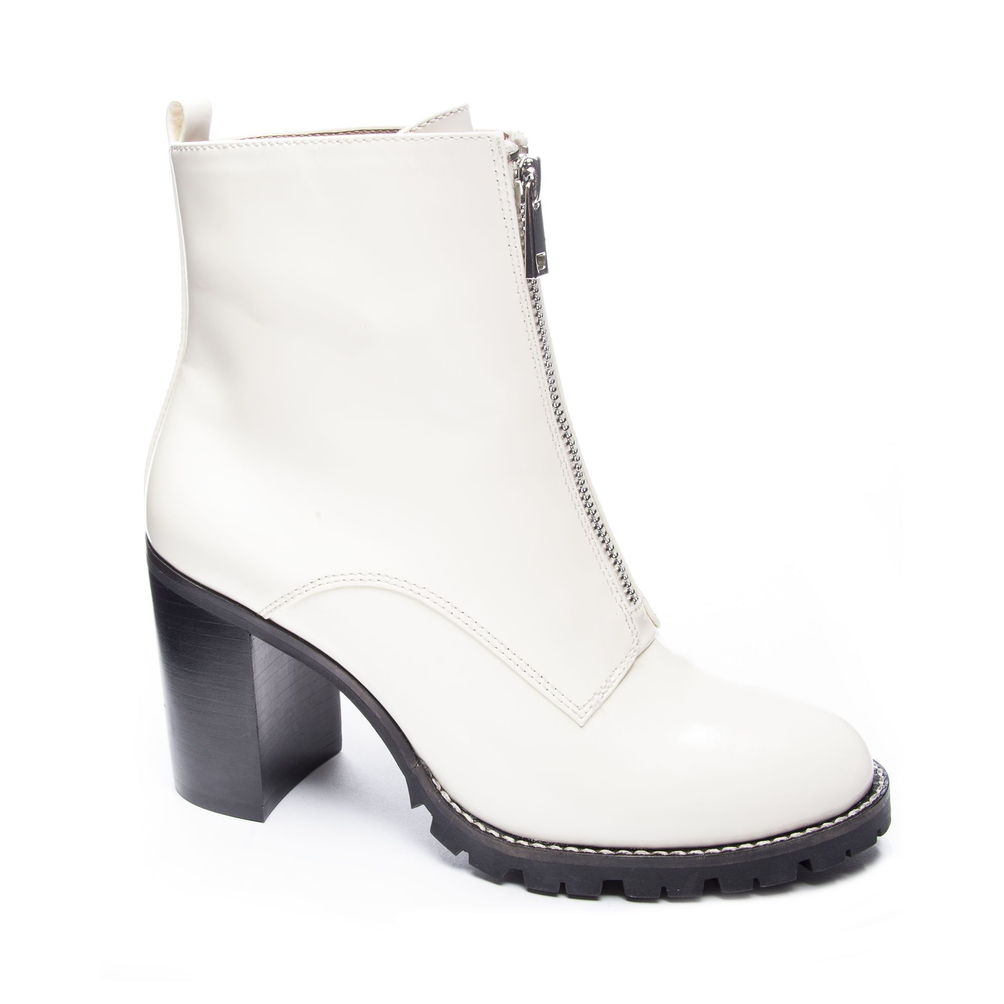 73d8029c6ef Chinese Laundry Jargon Booties in White