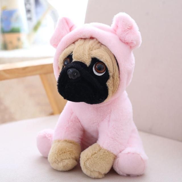 Costume Pug Stuffed Animal Plush Toy Dog Pet Toys Plush Dog