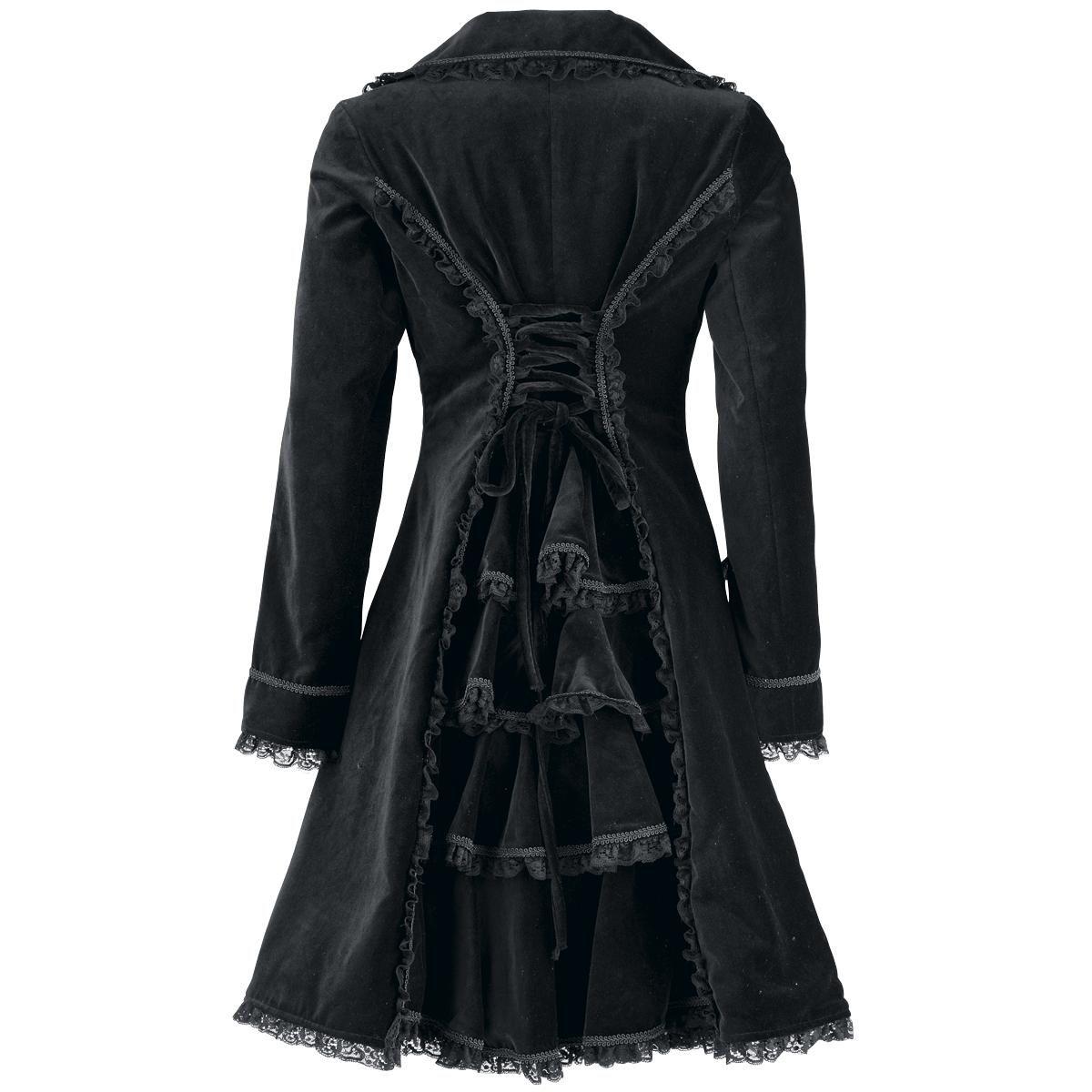 Black Rose Coat von 13 Cats