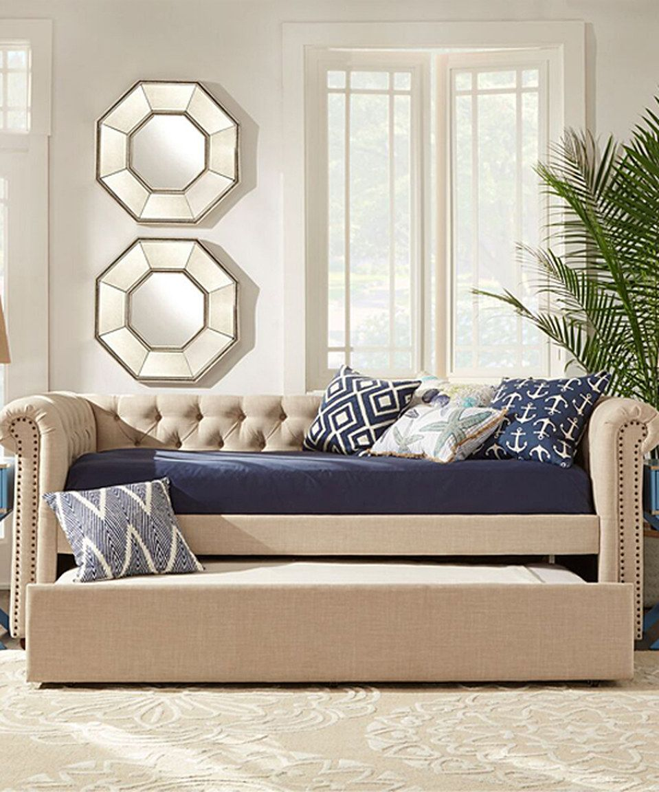look what i found on zulily homebelle beige tufted chesterfield