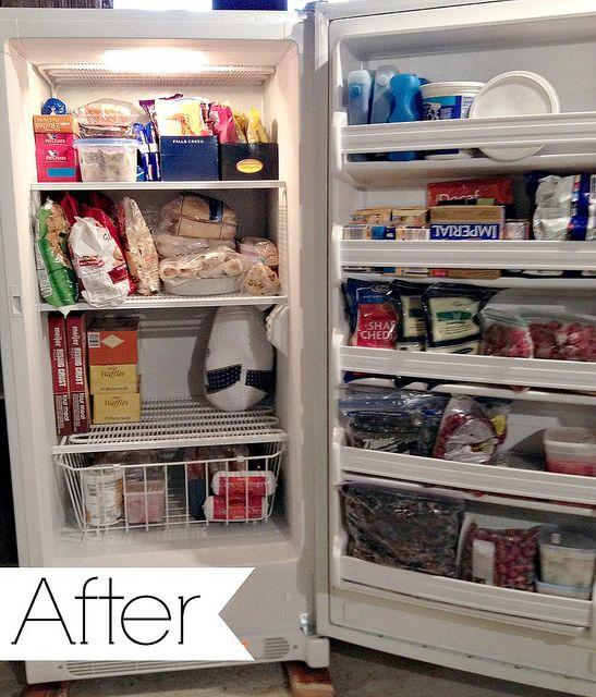 How We Defrost Our Deep Freezer Andrea Dekker Freezer Cooking