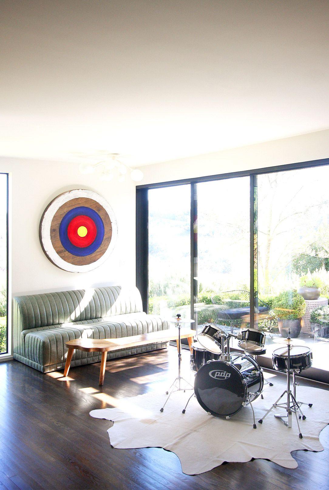 designer crush: cuffhome | rustic modern living room, rustic