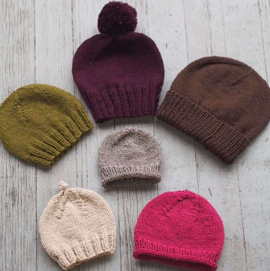 12+ Easy Knitted Beanie Pattern | Knit beanie pattern ...