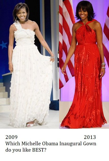 Michelle Obama Inaugural Gown 2013 And Inauguration Day Dress