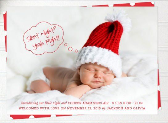 Hilarious Birth Announcements - momme photography Pinterest