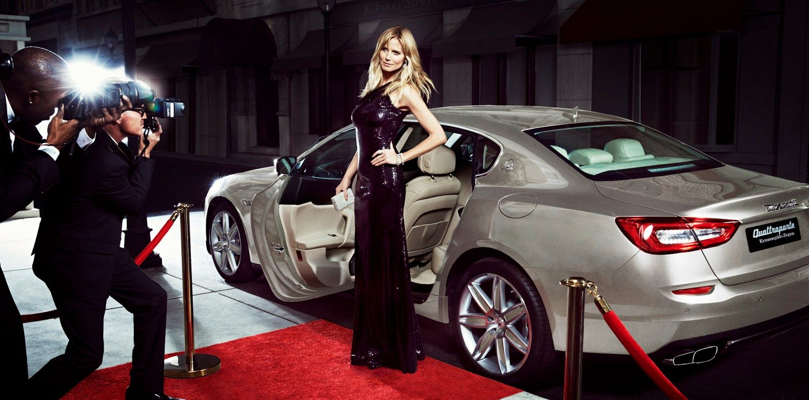 Heidi Klum Car