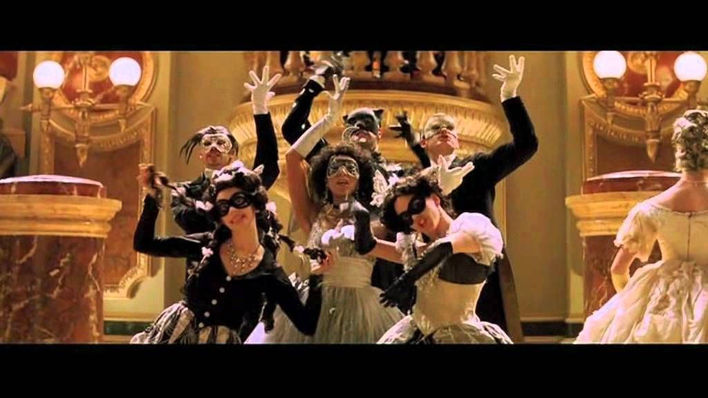 masquerade ダンス トレーニング