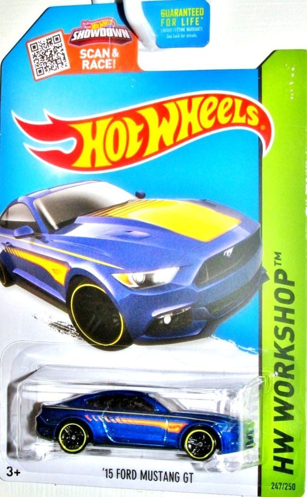 2015 Ford Mustang Gt 2015 Hot Wheels Hw Workshop Then Now 247