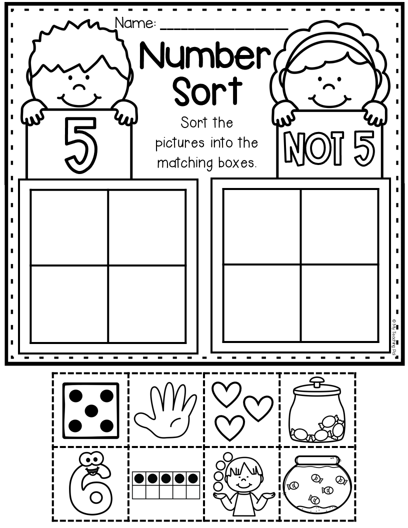 Numbers To 10 Worksheets Distance Learning Counting Kindergarten Preschool Math Math Activities [ 1056 x 816 Pixel ]