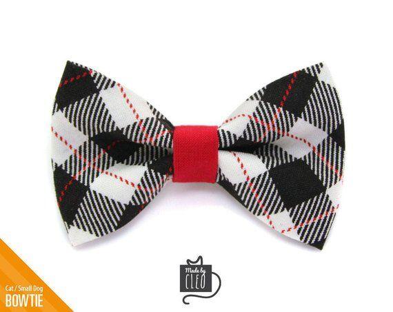3235e3ba17b9 Black Cat Bow Tie -