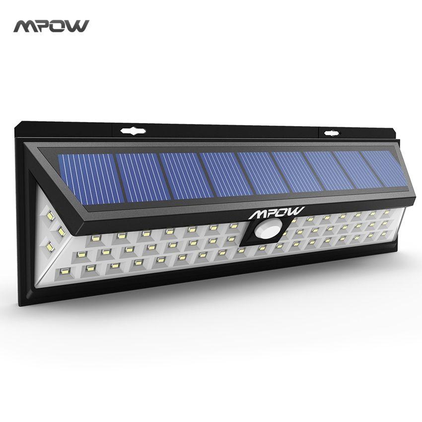 Mpow 54 Led Nachtbeleuchtung Wasserdichte Solarleuchten Weitwinkel