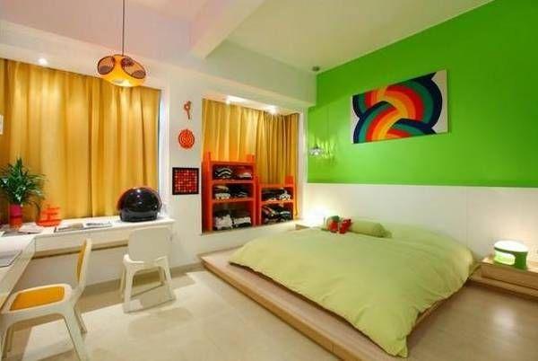 Modern Interior Design With Breathtaking Rainbow Color