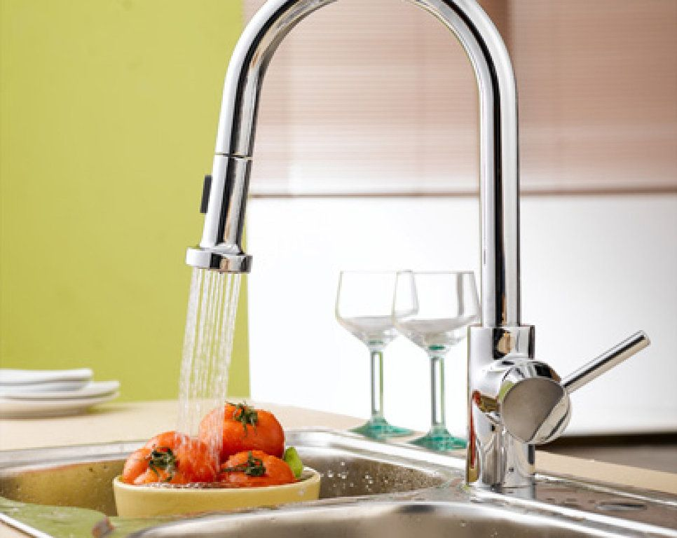 12 Kitchen Faucet Ideas For An Instant Style Update Wall Mount Kitchen Faucet Best Kitchen Faucets Pull Out Kitchen Faucet