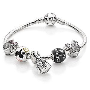 Castle With Fireworks Collection By Pandora Disney Store You Ll Sparkle Like A Firecracker With The Pandora Bracelet Charms Pandora Bracelets Pandora Jewelry