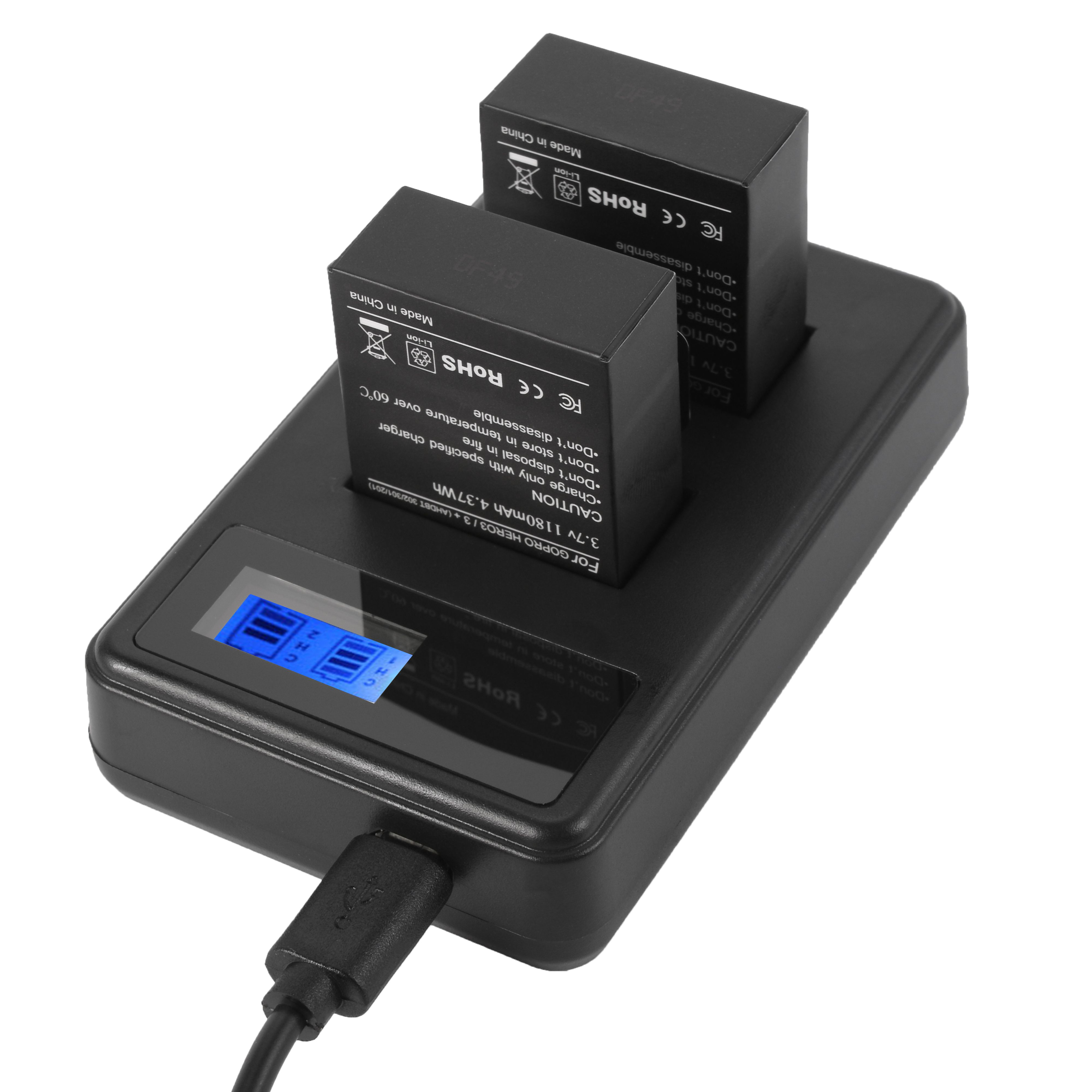 302 301 AHDBT 201 AHDBT Caméra Batterie Batterie 1180 mAh Pour GoPro Hero 3 III AHDBT
