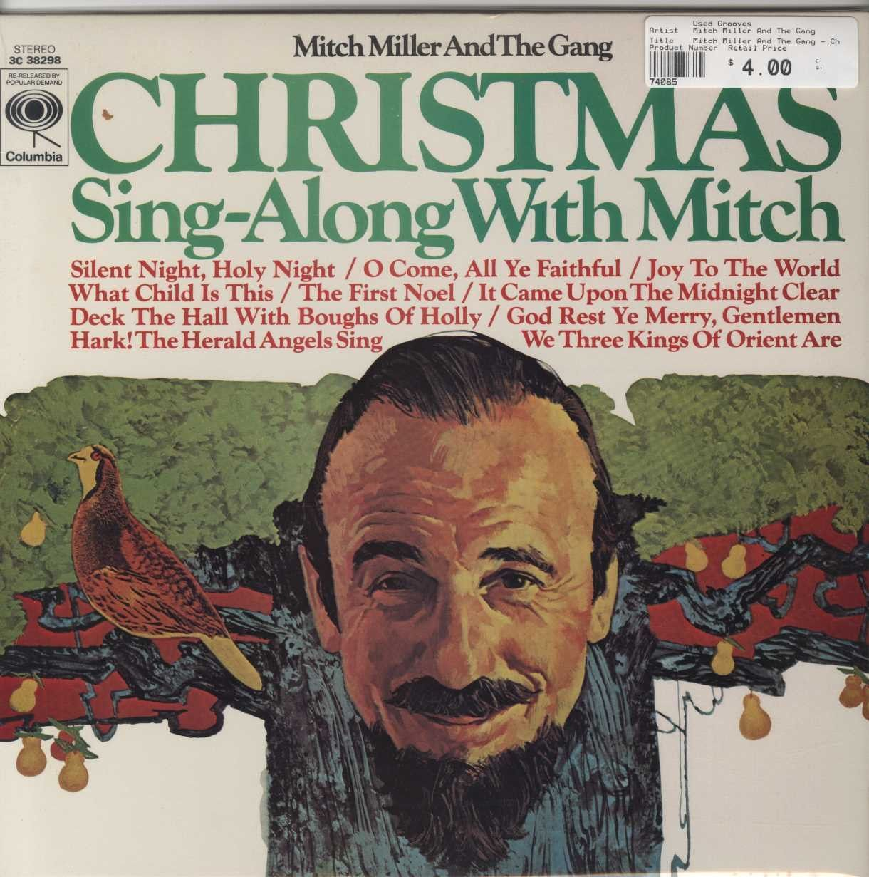 mitch miller and the gang christmas sing along with mitch