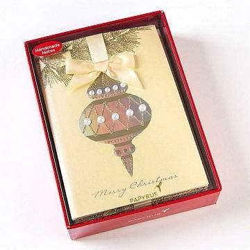 image for interesting papyrus boxed christmas cards