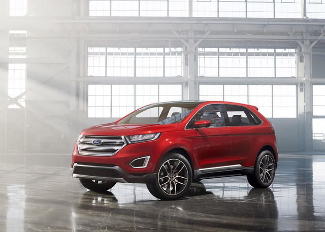 The 2015 Ford Edge Crossover Suv Ford Edge 2016 Ford Edge Ford
