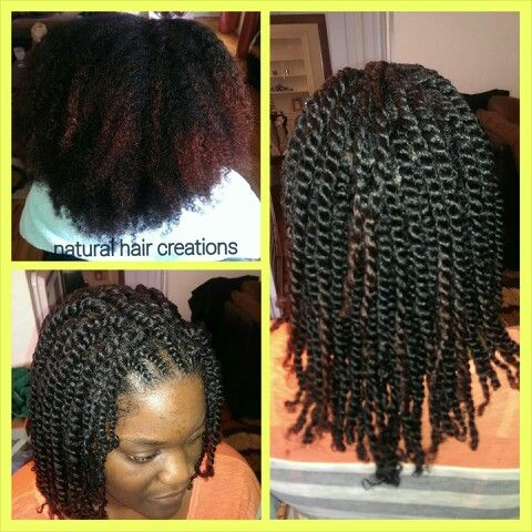 2 Strand Twists Natural Hair Thick Coiling Natural Hair Natural Hair Styles Thick Hair Styles