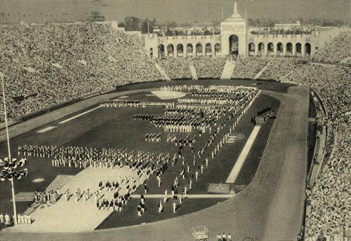 1932 Los Angeles Olympic Stadium Olympic Venues Olympics Los Angeles