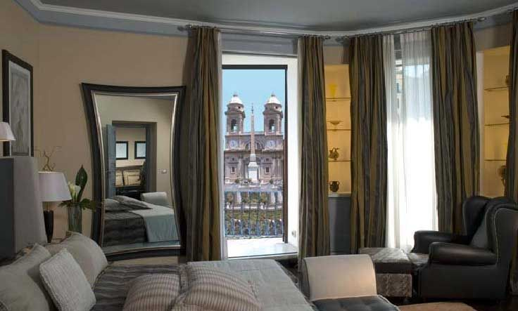 The Inn At The Spanish Step Hotel In Rome Traveling Pinterest