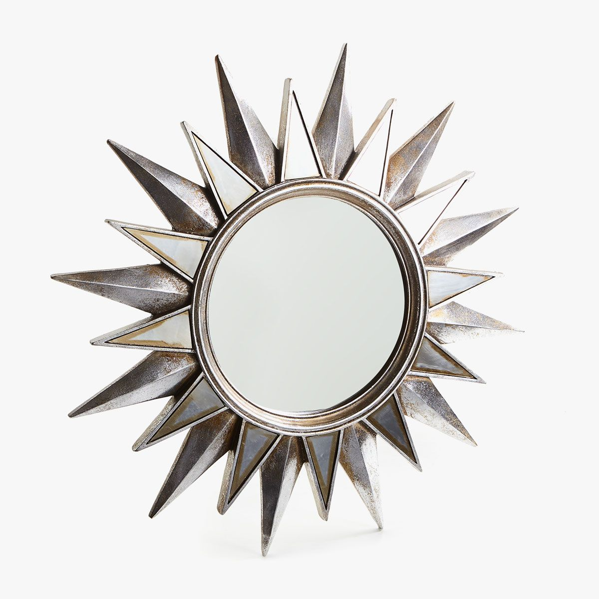 Sun Shaped Mirrors Image 1 Of The Product Silver Sun Shaped Mirror Dining Room
