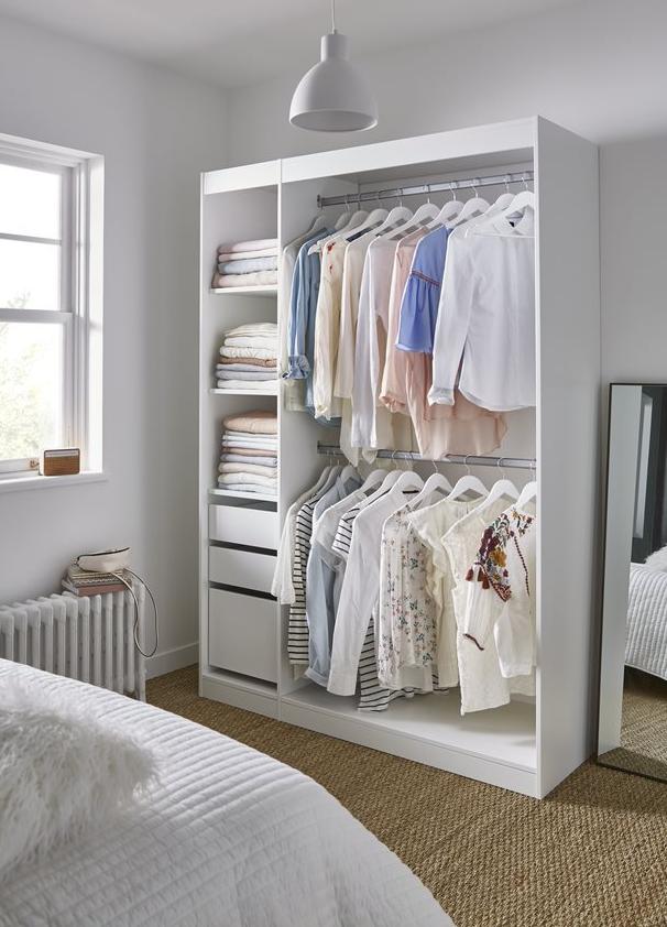 Module Interieur Blanc 40 Cm Form Perkin Dressing Castorama Castorama