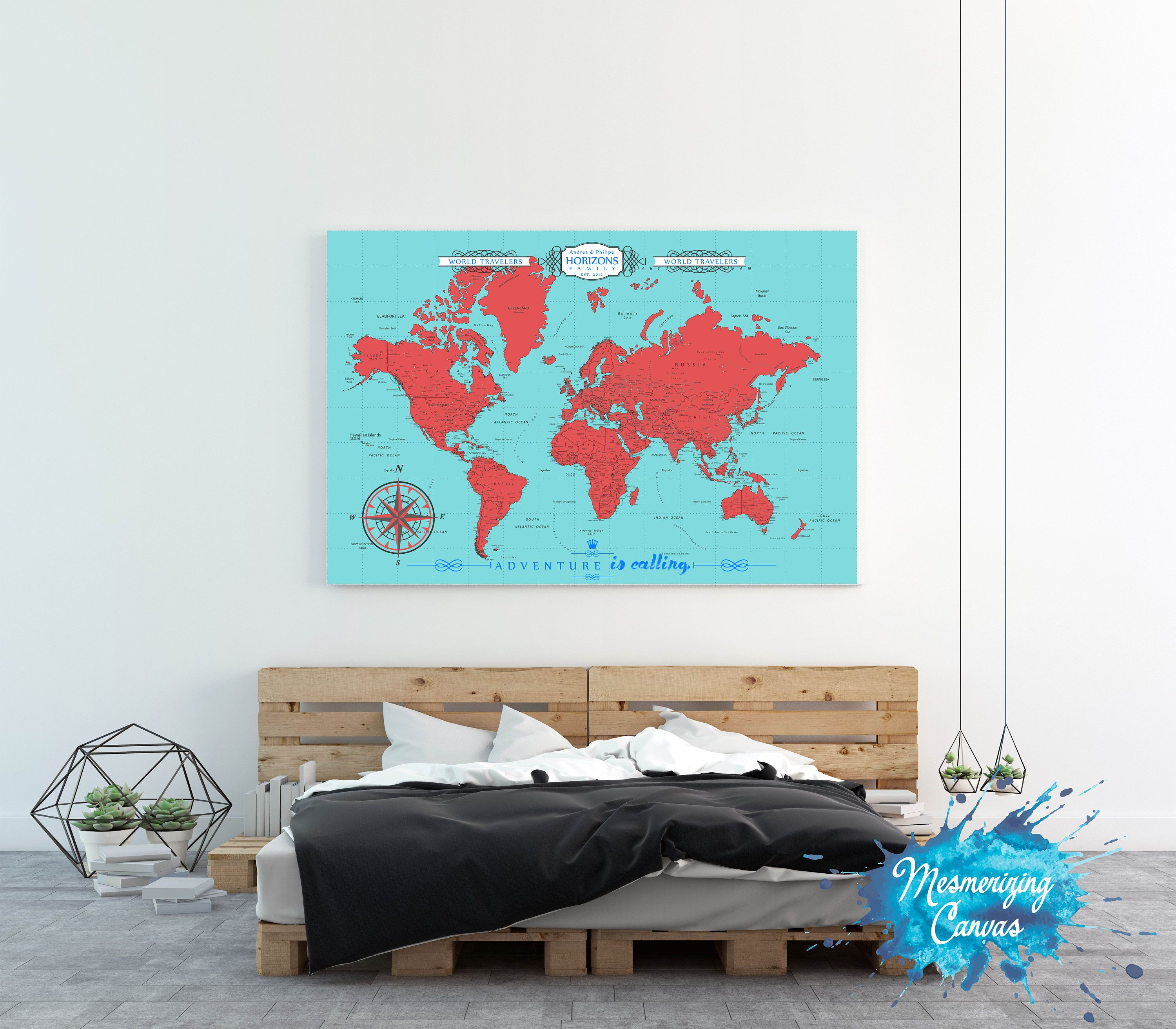 Housewarming gift push pin travel map world travels map travel housewarming gift push pin travel map world travels map travel map world map push pin map welcome sign push pin trip planner mapaa gumiabroncs Image collections