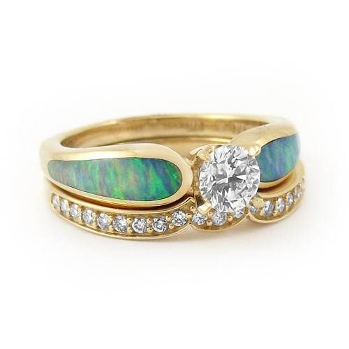 Amazing Opal Engagement Rings Style