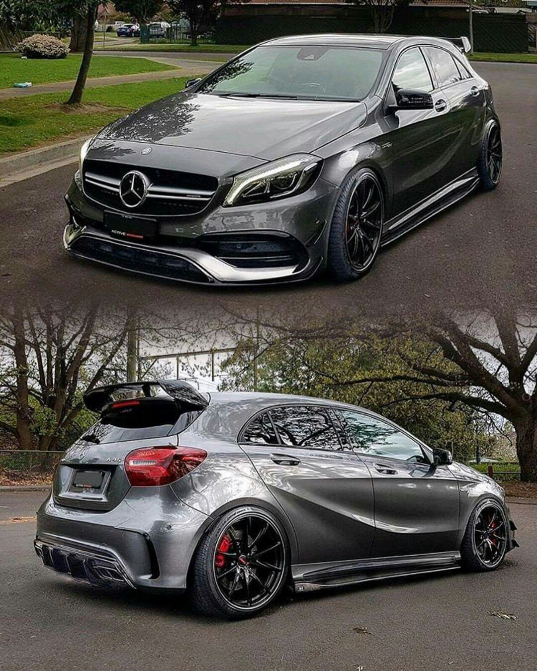 2017 Mercedes Amg A45 Face Lift 381 Hp 2 0l 4matic 4 Cylinder 0 100 Km Sec