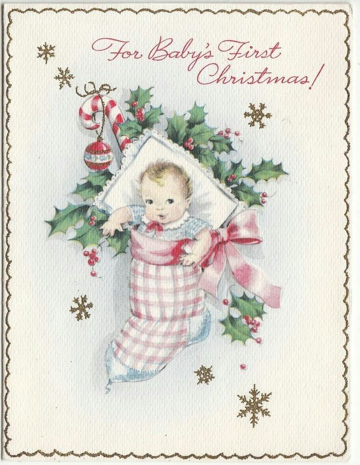 Baby in a stocking greeting cards have all been sent pinterest baby in a stocking greeting cards have all been sent pinterest stockings vintage christmas and vintage christmas cards m4hsunfo