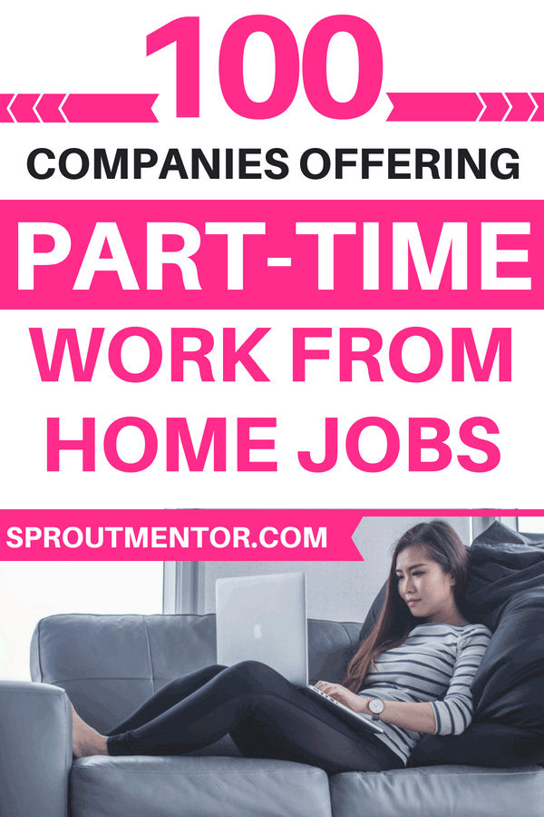 Part Time Jobs That Will Boost Your Income Work From Home Jobs Part Time Jobs Online Jobs From Home