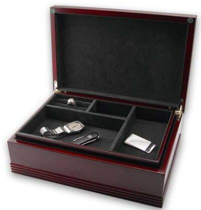 Mens Jewelry Box Large Rosewood Mens Jewelry Box All About Men