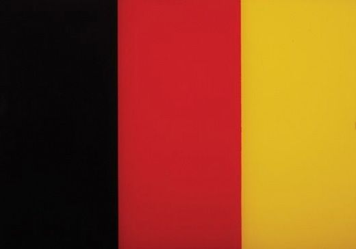 Schwarz, Rot, Gold II, Gerhard Richter