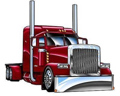Semi Trucks Clipart Clipartfest Semi Trucks Peterbilt Trucks
