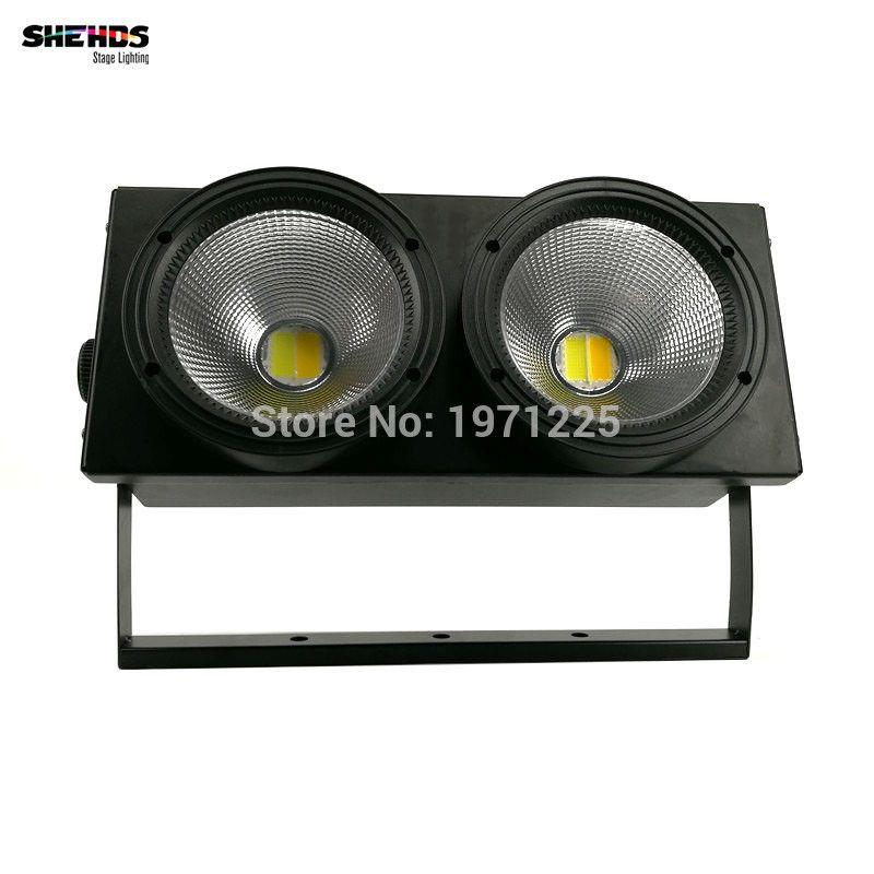 2eyes 2x100w led cob light dmx stage