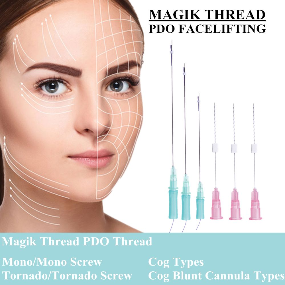 MAGIK PDO THREAD | pdo thread in 2019 | Thread lift, Botox face