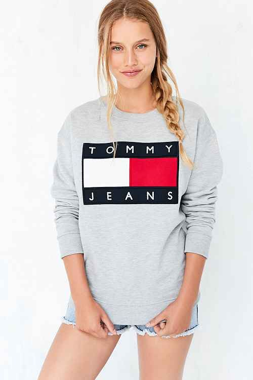 e8b97ee9 Something Tommy Hilfiger (shirt or pullover). Women's Tops - Urban  Outfitters