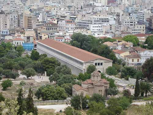 Athens Greece Ancient Agora Greece Athens