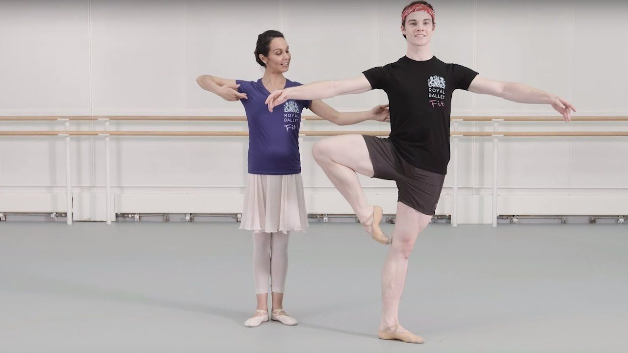 Royal Ballet Fit Episode 3 - Centre (Health and Fitness) - YouTube #balletfitness