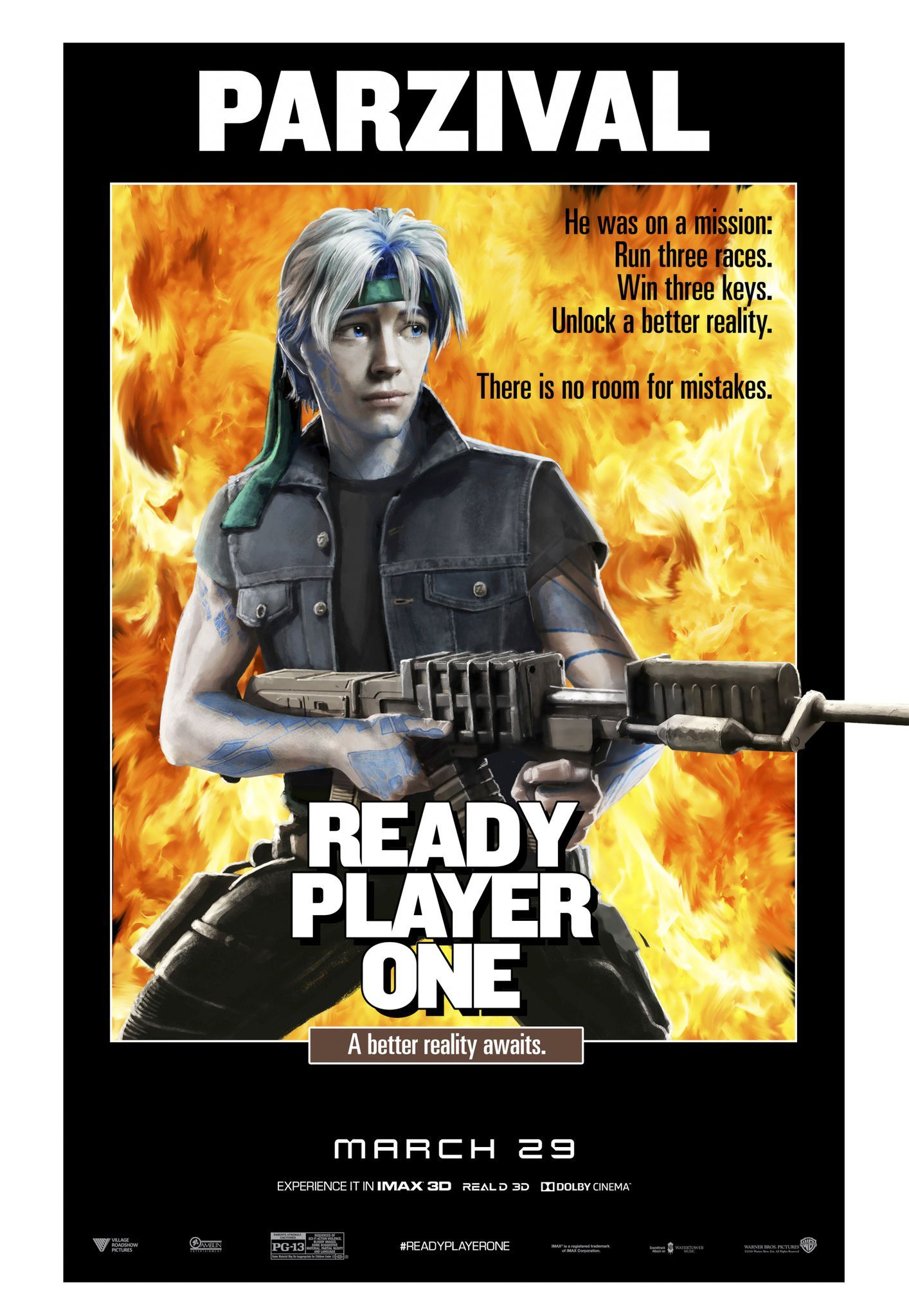 The Iconic MovieInspired 'Ready Player One' Posters Are