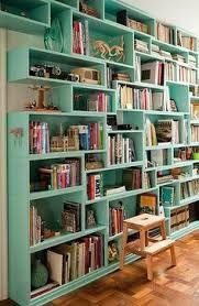 Resultado de imagem para mobiliario pequena biblioteca