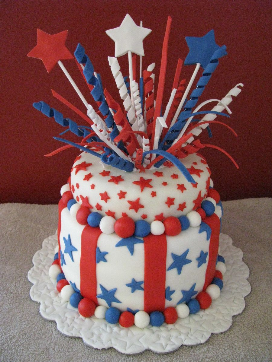 Happy 4th of july top tier is just for looks it was made