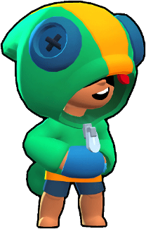 Leon Is A Legendary Brawler Who Can Turn Invisible For A Short Time When Using His Super He Has Medium Health And High Damage Star Doodle Brawl Star Wallpaper