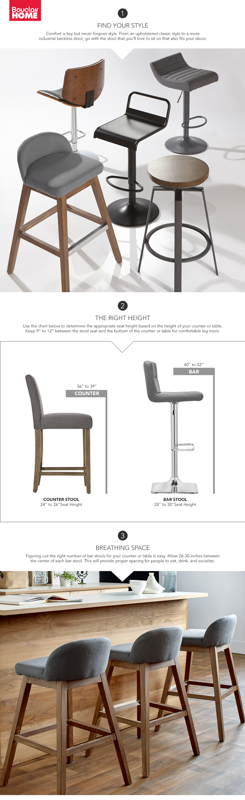 Amazing When It Comes To Bar Stools, One Size Does Not Fit All. Follow These Great Pictures