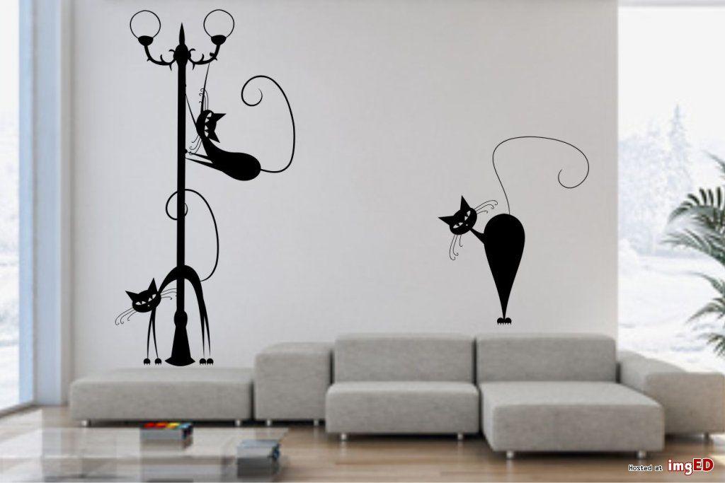 Naklejki ścienne Na ścianę Koty Wallpaper Pinterest Wallpaper