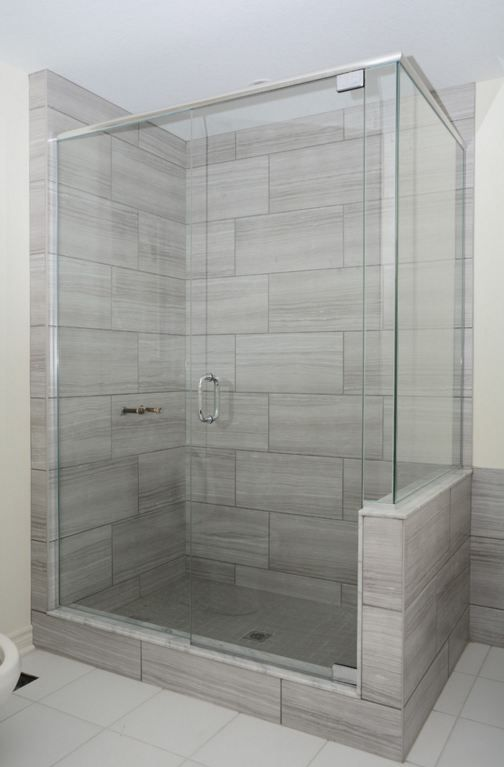 Eramosa Ice 12x24 Porcelain Tile Patterned Bathroom Tiles