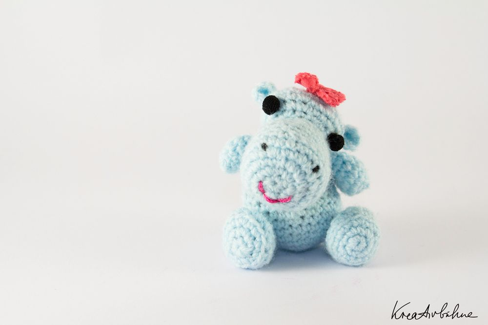 amigurumi #hippo free crochet instructions in German | ♥ Amigurimi ...