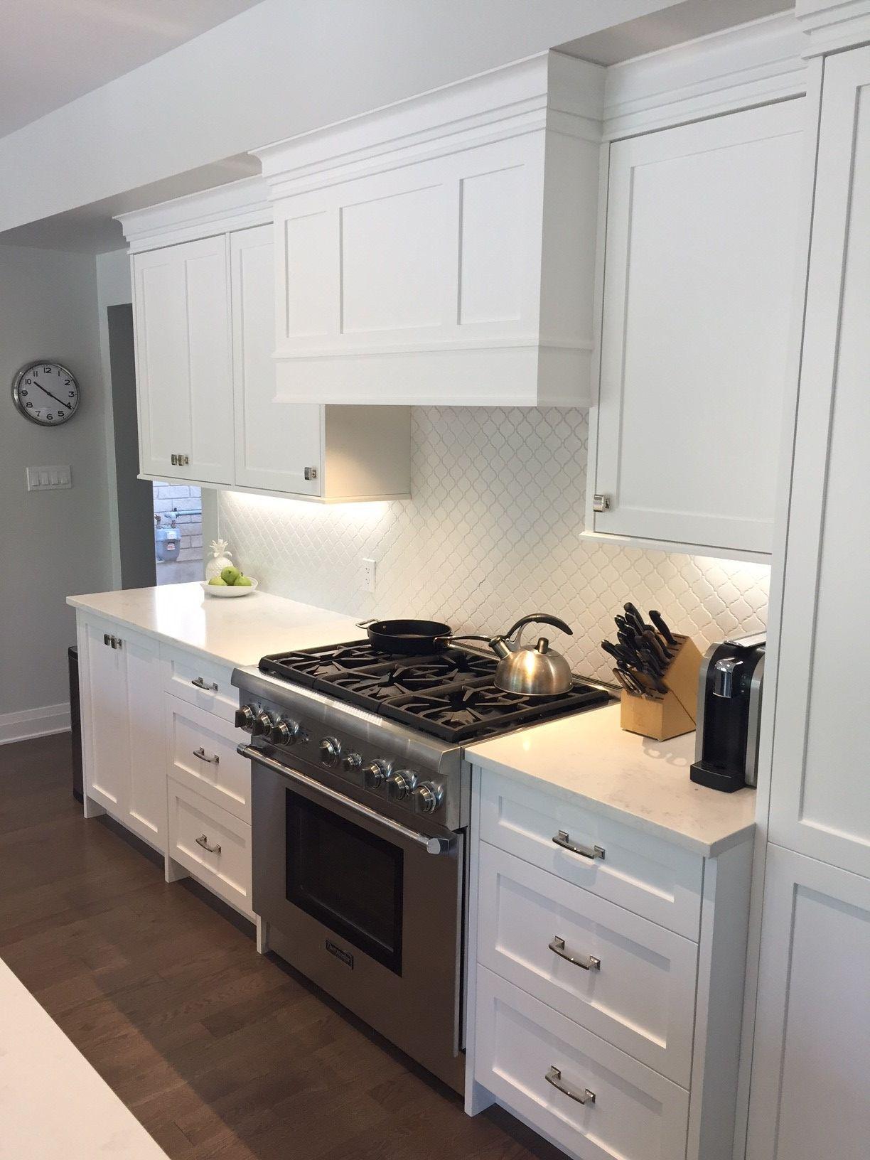 Painted White Kitchen Decor Custom Cabinet Doors Kitchen Decor