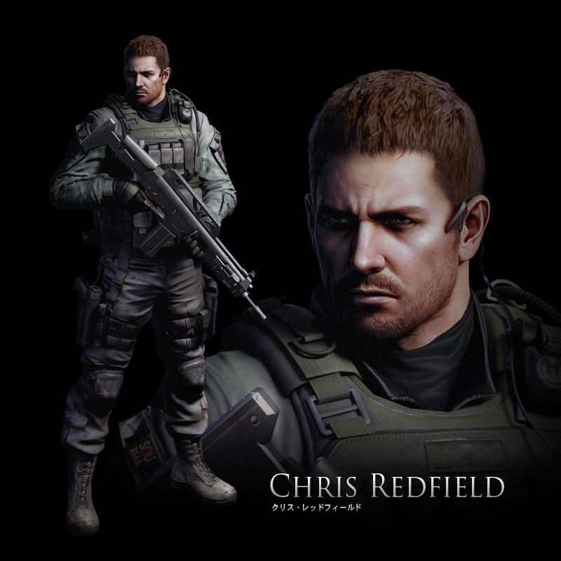 Chris Redfild De Volta Com Tudo Em Re6 Resident Evil Resident Evil Game Hottest Video Game Characters